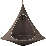 Suspended Hammock - Double Cacoon - Taupe