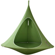 Suspended Hammock - Double Cacoon - Green