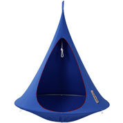 Suspended Hammock - Single Cacoon - Blue