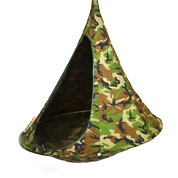 Suspended Hammock - Single Cacoon - Camouflage