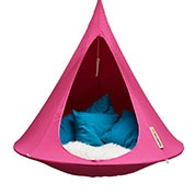 Suspended Hammock - Single Cacoon - Fuchsia