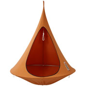 Suspended Hammock - Single Cacoon - Orange