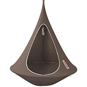 Suspended Hammock - Single Cacoon - Taupe