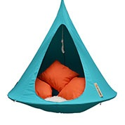 Suspended Hammock - Single Cacoon - Turquoise