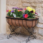 Cradle Planter with Coco Liner - 60 x 30 x