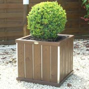 Design Square Wooden Planter