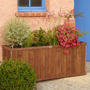 Design Rectangular Wooden Planter