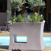 Contemporary Planter - 100x45 x H80cm – Grey