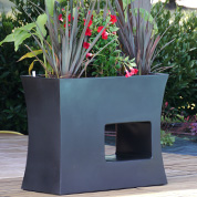 Contemporary Planter - 100x45 x H80cm – Black