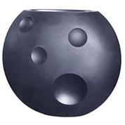 Pot Scudo - 90 x 50 x H.75 cm - Anthracite