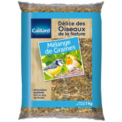 Mix of birds seeds - 1 kg - Caillard