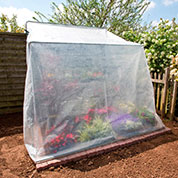 Adjustable, lean to greenhouse