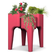 KIGA kitchen garden table M - Red - Hurbz