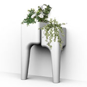 KIGA kitchen garden table S - White - Hurbz